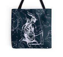 Auriga Constellation Tote Bag