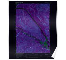 USGS Topo Map Washington State WA Eagle Gorge 240917 1953 24000 Inverted Poster