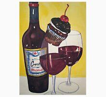 Cupcake wine and Cupcake 2 Unisex T-Shirt