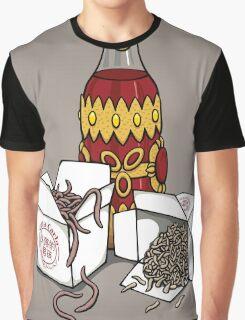 Santa Carla Takeaway Graphic T-Shirt