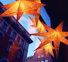 December Stars by Bodil Kristine  Fagerthun