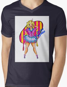 Trisha Paytas Mens V-Neck T-Shirt