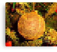 Manipulation In The Style Of Picasa Canvas Print
