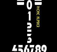 Phone number - case by Nhan Ngo