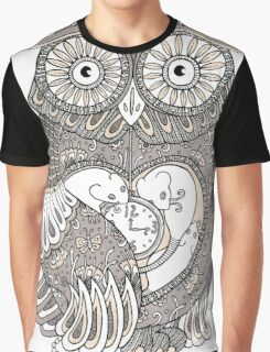 The Timely Owl Tee Graphic T-Shirt