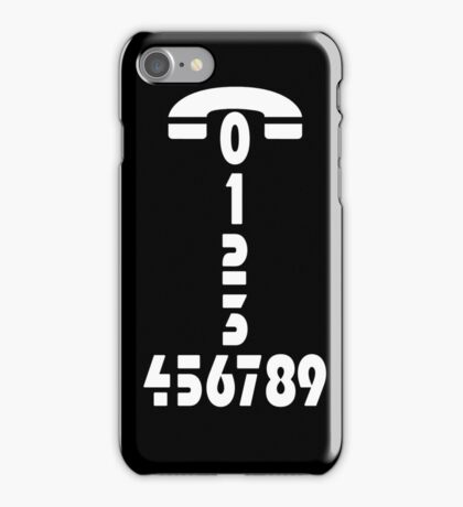 Call me - Phone number - case iPhone Case/Skin