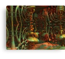 Lair Of The Creature Canvas Print