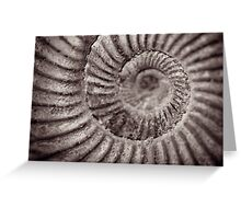 Archimedean spiral Greeting Card