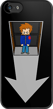 Scott Pilgrim - Elevator to the Chaos Theatre by AlexNoir