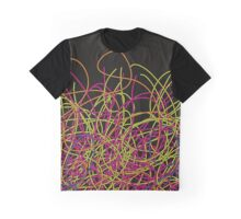 Colorful tangled wires Graphic T-Shirt
