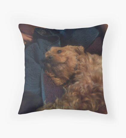 Charlie Cocker Spaniel Throw Pillow