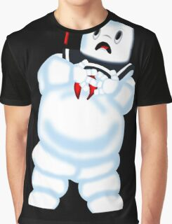Scared Mr. Stay Puft. Graphic T-Shirt