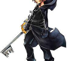 Kingdom Hearts - Roxas by realzanime