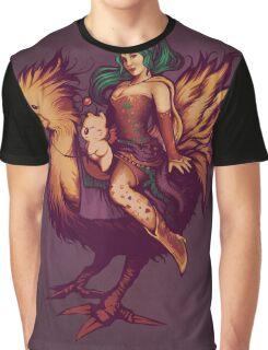Mog's Chocobo Riding Club Graphic T-Shirt