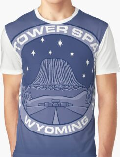 Devil's Tower Spaceport Graphic T-Shirt