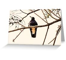 Branch open for business Greeting Card