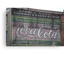 Advertising ephemera Canvas Print