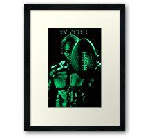 Green Challenge. Go Jets! Framed Print