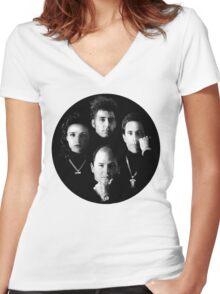 Seinfeld New Album Is Lit Women's Fitted V-Neck T-Shirt