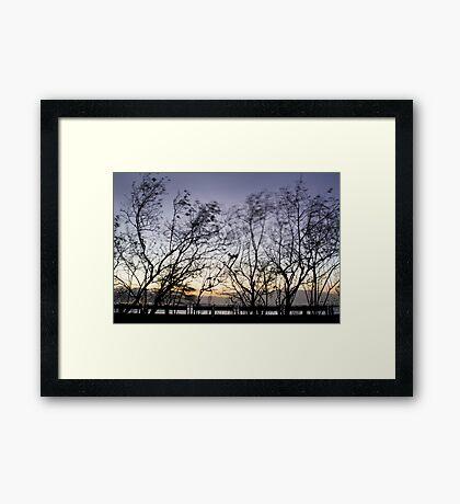 Areia Branca Framed Print