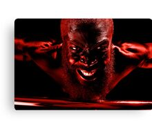 Last Bloody Pull Up! Canvas Print
