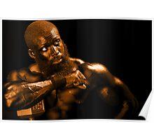 Bronze Man Poster