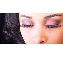 Eyelashes Photographic Print
