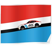 S30 in Datsun Racing Livery Poster