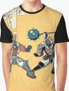 Tatakae Chou Samurai Seimeitai! Graphic T-Shirt