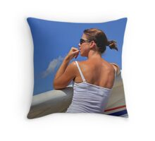 Trudy, Chabre, 2010 Throw Pillow