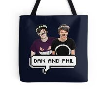 Dan and Phil - Flower Text Tote Bag