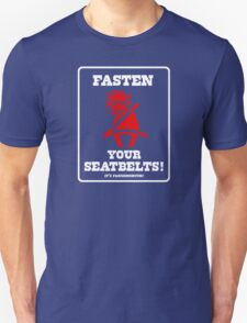 FASTEN YOUR SEATBELTS! Van Miller Tribute T-Shirt
