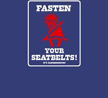 FASTEN YOUR SEATBELTS! Van Miller Tribute T-Shirt
