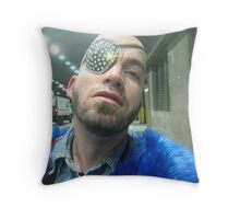 bad boy! Throw Pillow