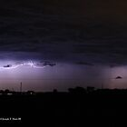 Lightning All Around by JoeDavisPhoto