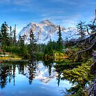 Serenity at Mount Shuksan by Dale Lockwood