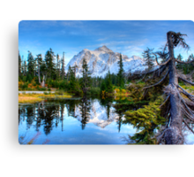 Serenity at Mount Shuksan Canvas Print