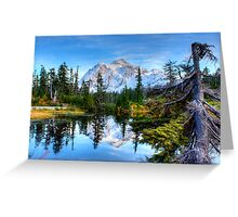 Serenity at Mount Shuksan Greeting Card