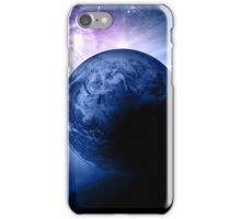 Earth and Nebula iPhone and iPad Case iPhone Case/Skin
