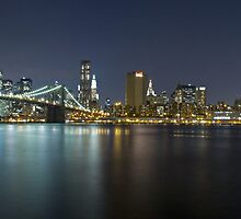 Manhattan at Night Panorama 3 by BlackRussian