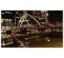 Crown bridge melbourne Photographic Print