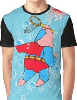Superstar Jelly-fishing! Graphic T-Shirt
