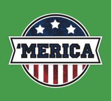 'MERICA T-Shirt. America. Jesus. Freedom. - The Campaign Baby Tee