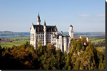 Neuschwanstein Castle  by robyngourley