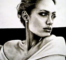 Angelina Jolie by Allie Keech