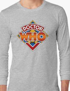 Classic Doctor Who Diamond Logo. Long Sleeve T-Shirt