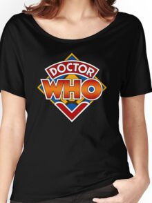 Classic Doctor Who Diamond Logo. Women's Relaxed Fit T-Shirt
