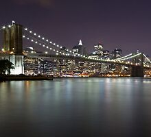 Brooklyn Bridge at Night 2 by BlackRussian