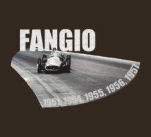 Juan Manuel Fangio - The Maestro (Dark Shirts) by oawan