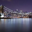 Brooklyn Bridge at Night 3 by BlackRussian